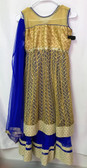 Stylish Premium Blue Color  Embroidery Net  Georgette  Lehenga 200617933