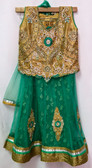 Stylish Premium Teal Green Color Net Georgette  Lehenga 200617945