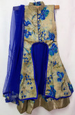 Stylish Premium Blue Color Net Georgette Lehenga 200617955