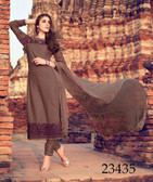Fabulous & Attractive Brown Colored Lawn Cotton Salwar Suit