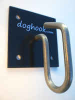 Doghook Classic - Black with Masonry Hardware Kit