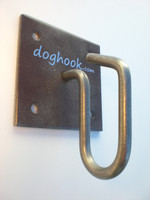 Doghook Classic - Rust Look with Wood Hardware Kit