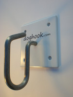 Doghook Classic - White with Masonry Hardware Kit