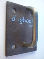 Doghook Mini - Rust Look with Masonry Hardware Kit