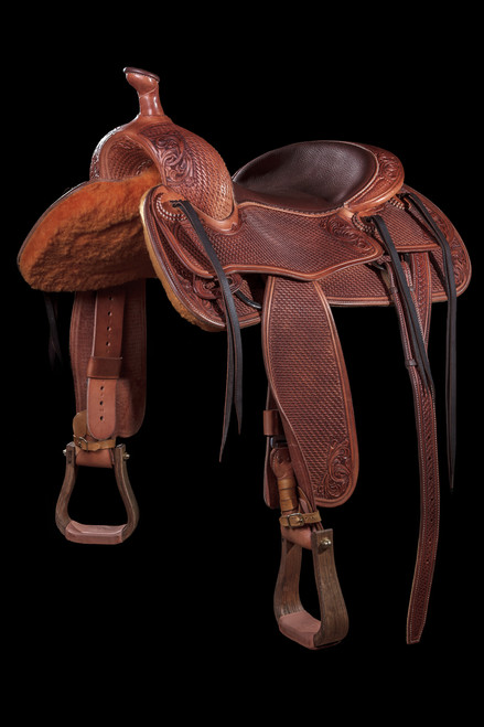 Custom Ranch Rider/Cow Horse Saddle