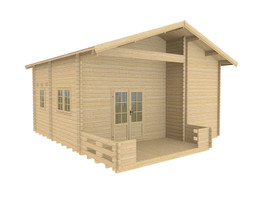 Haven Loft cabin visualization1