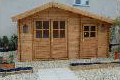 Double Garden Shed