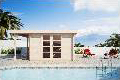 Moderna Pool House
