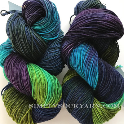 FA Cottage Sock Aurora -