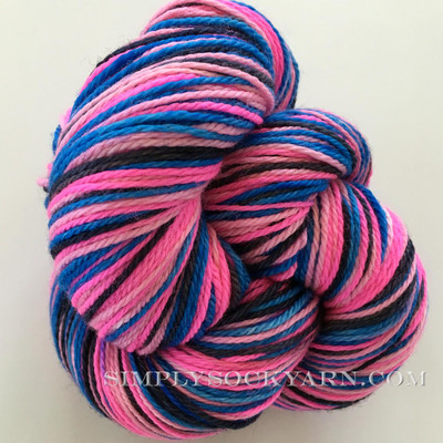 SK Merino Stripe Flamingo Night