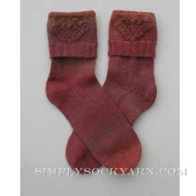 JoJoLand Faded Heart Sock