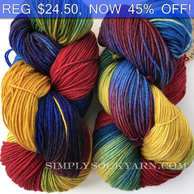 MWP 120g Sock Rainbow -