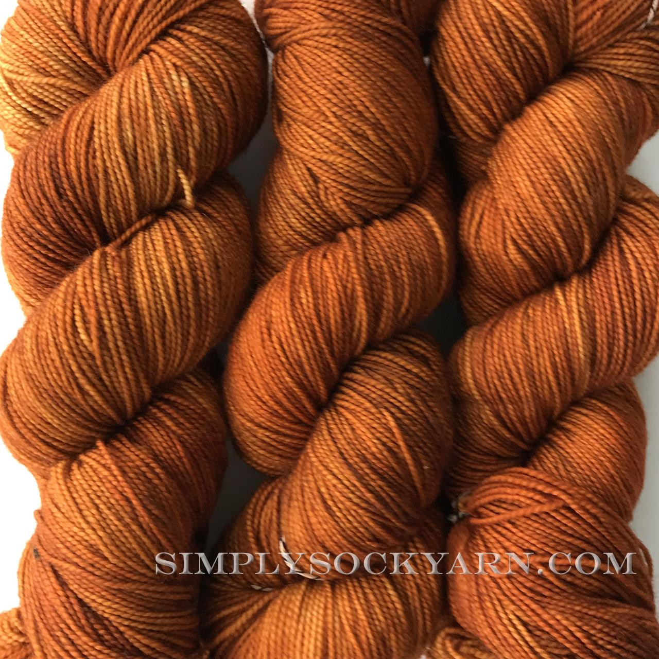 SY Bliss Sock Pumpkin Spice -