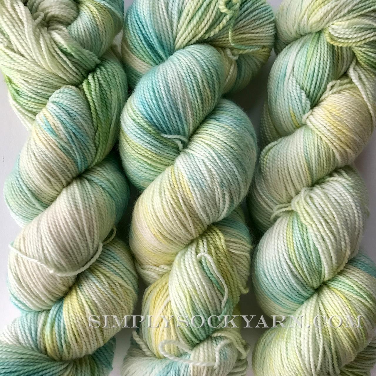 SY Bliss Sock Lagoon -