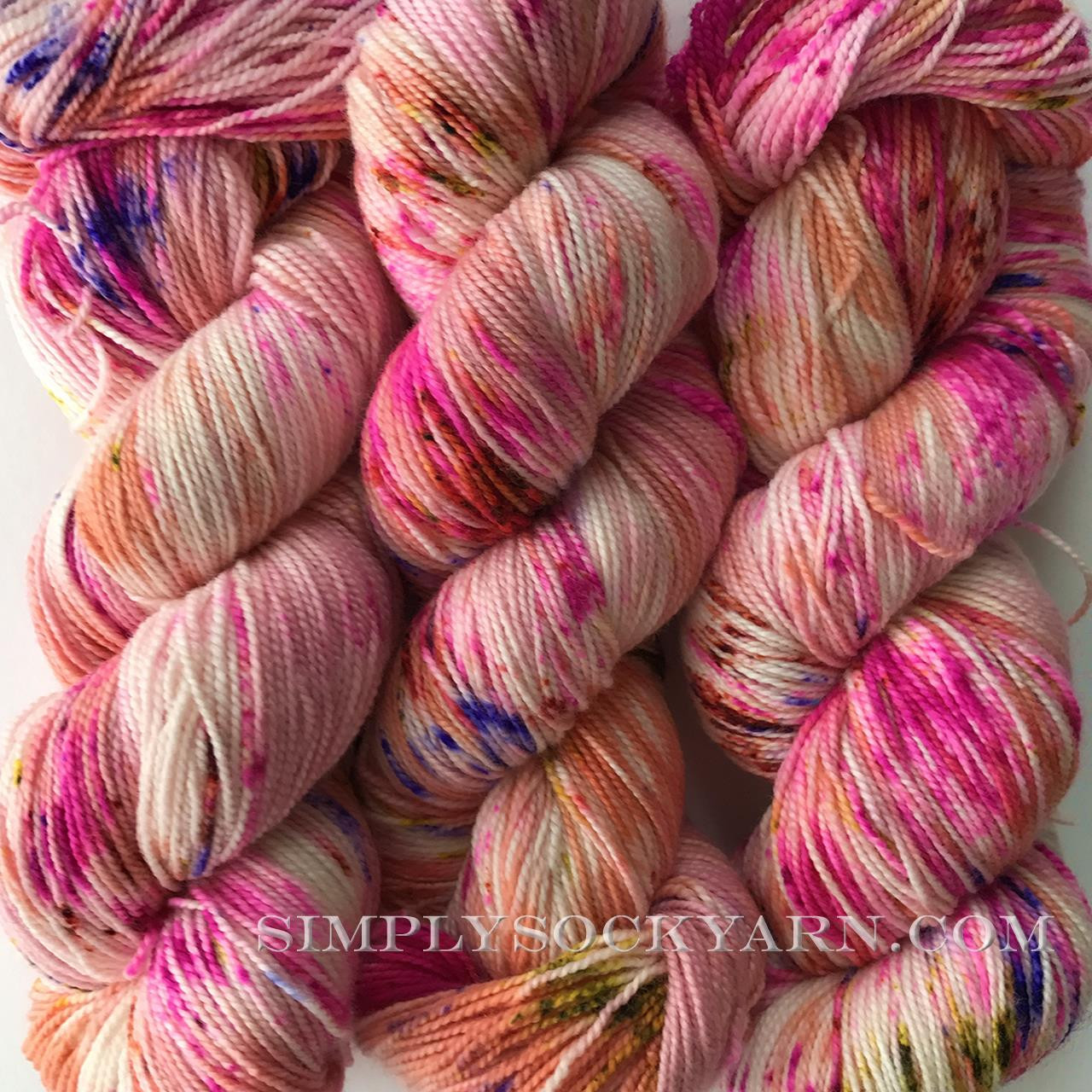 SY Bliss Sock Passion Fruit -