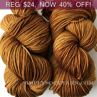 MWP Lt Worsted Ancient Amber -