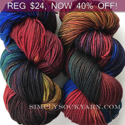 MWP Lt Worsted Rainbow -