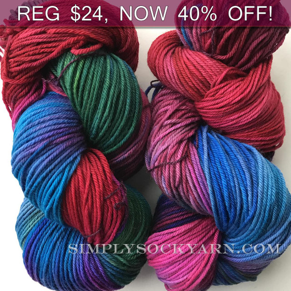 MWP Lt Worsted Red Rainbow -