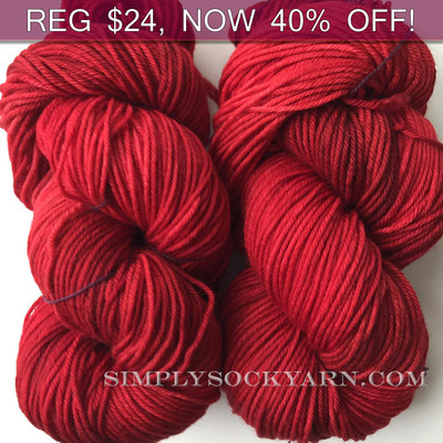 MWP Lt Worsted Ruby Red -