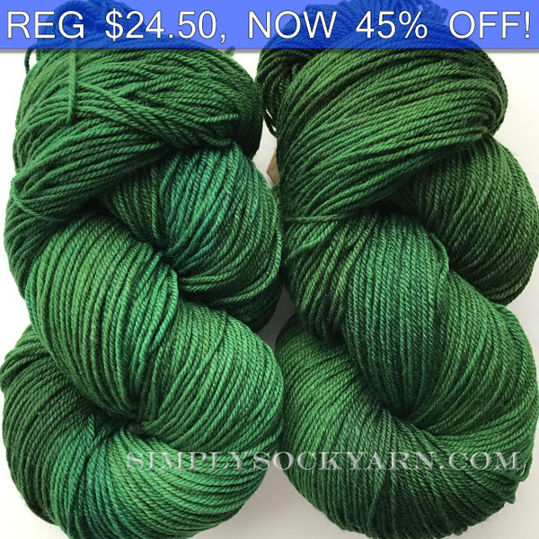 MWP 120g Sock Emerald -