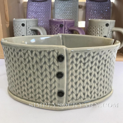 CwC Yarn Bowl Solid Gray -