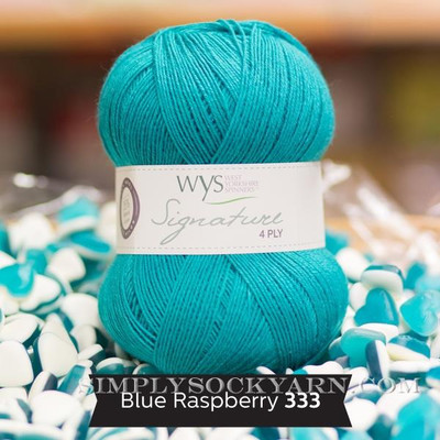 WYS Solid 333 Blue Raspberry -