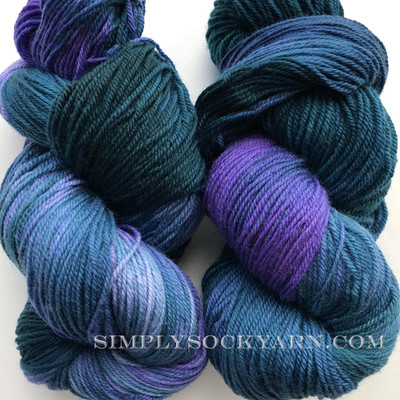 LnL 80/20 Sock Blue Lagoon -