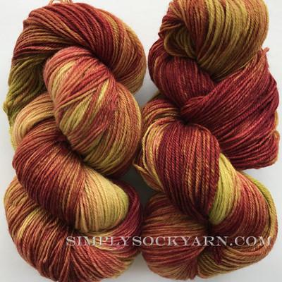 LnL 80/20 Sock Rhubarb -