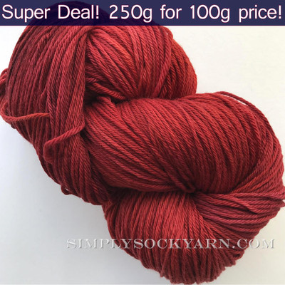 Poste Worsted 250g Red Desert -