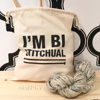 ST Project Bag I'm Bi Stitchual -
