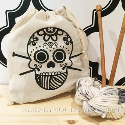 ST Project Bag Sugar Skull -