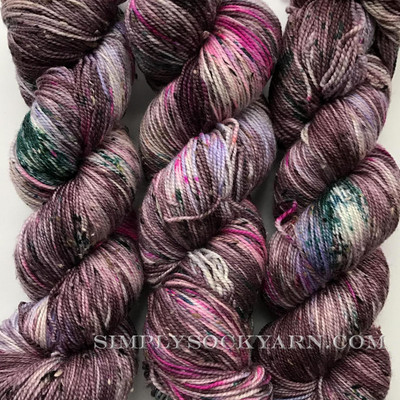 SY Tweed Raspberry Beret -