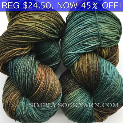 MWP 120g Sock Forest Stream -