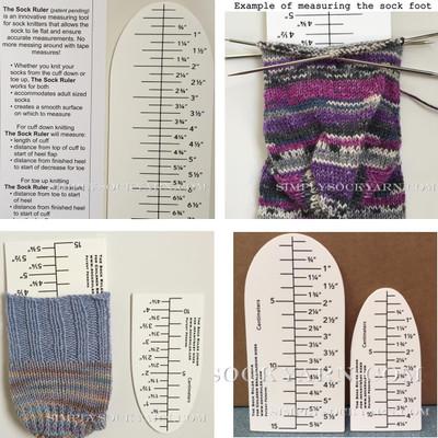 Sock Ruler Combo Pack -