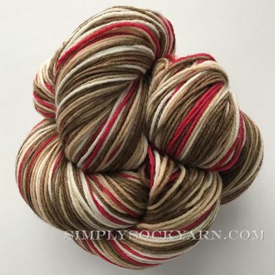 SK 80/20 Stripe Sock Monkey -