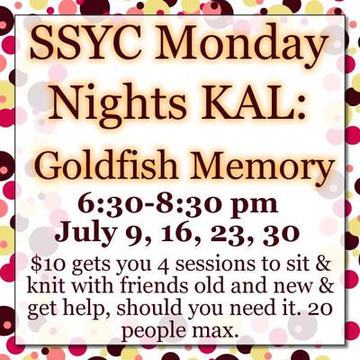 SSYC Goldfish Memory KAL -