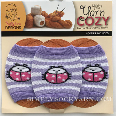 Yarn Cozy Purple Ladybug -