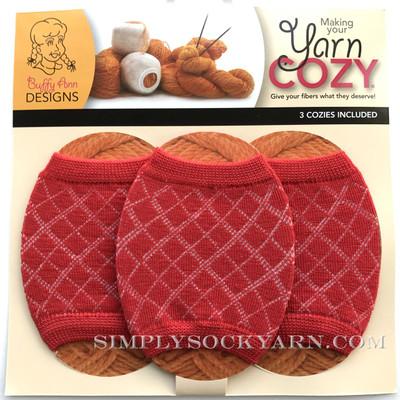 Yarn Cozy Red Argyle -