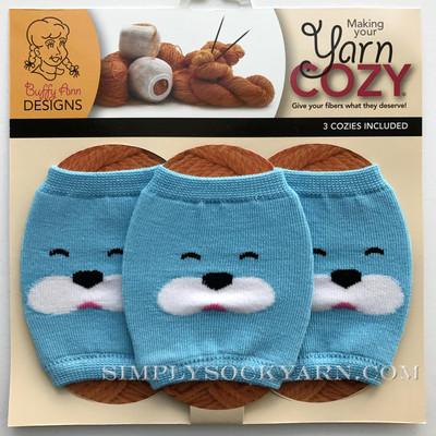 Yarn Cozy Blue Bear -