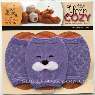 Yarn Cozy Purple Bear Argyle -