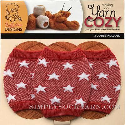 Yarn Cozy Red Stars -