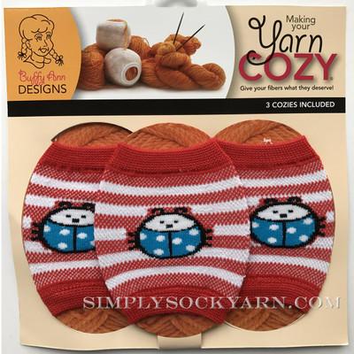 Yarn Cozy Red Ladybug -
