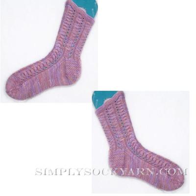 DIC Twinkle Sock Pattern