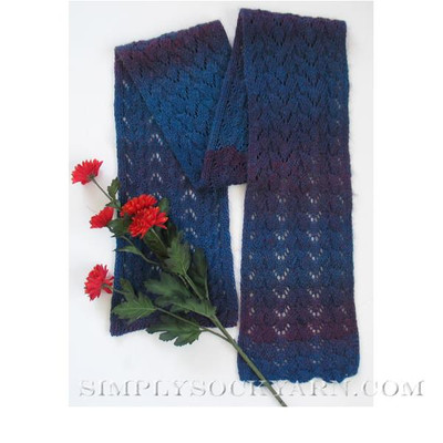 JoJoLand Purple Spangled Scarf