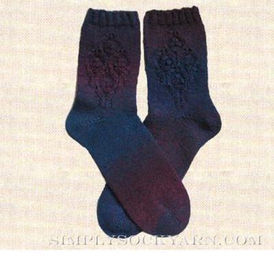 JoJoLand Rosy Diamond Sock
