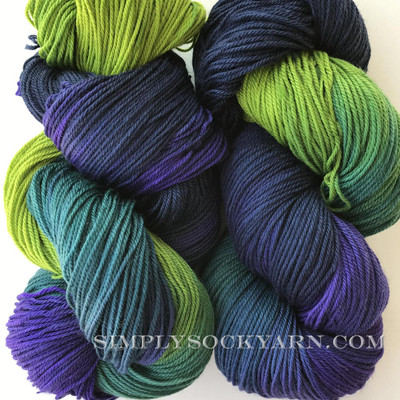 SG TL Sock Midnight Garden -