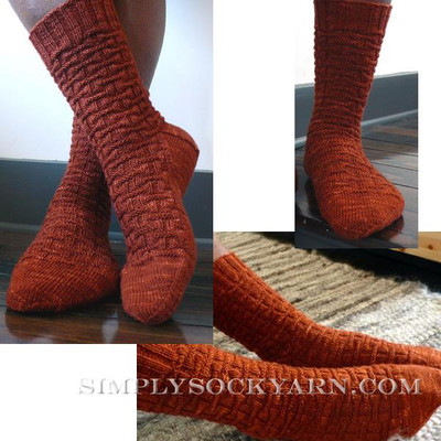 Knitspot Bricker Sock