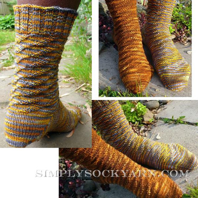 Knitspot Caterpillar Sock