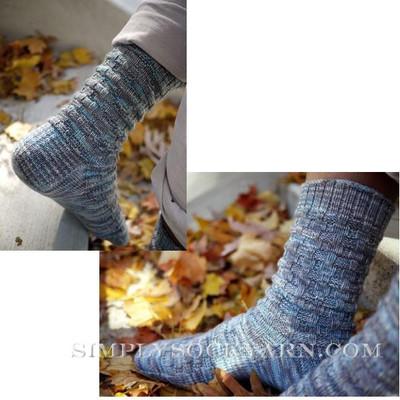 Knitspot Cinder Block Sock