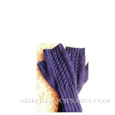Knitspot Fine Cabled Mitts